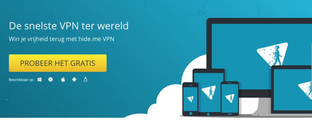 HideMe VPN Afbeelding