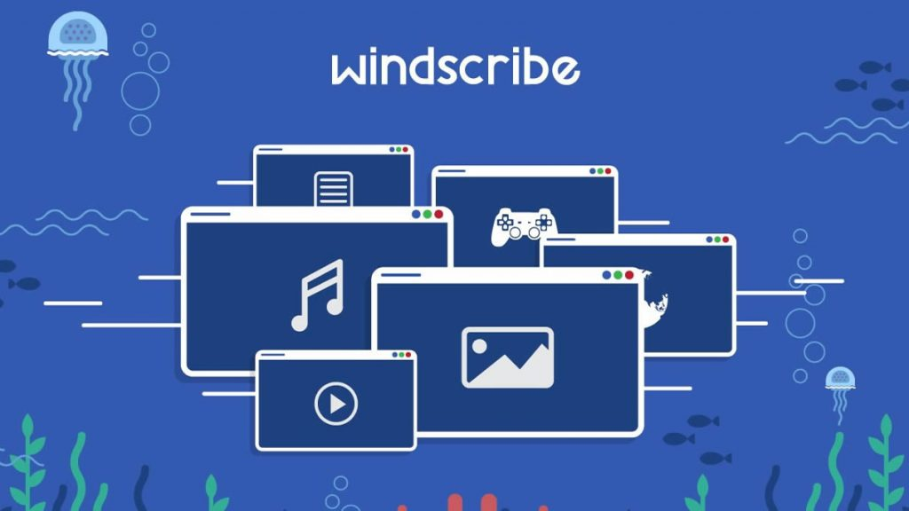Windscribe gratis VPN