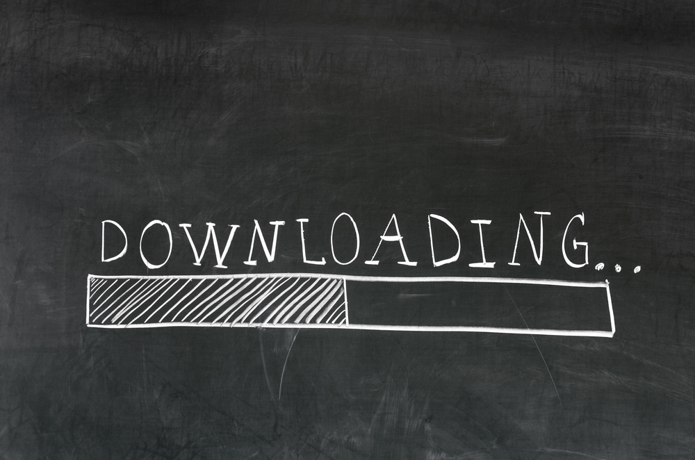Download voortgang
